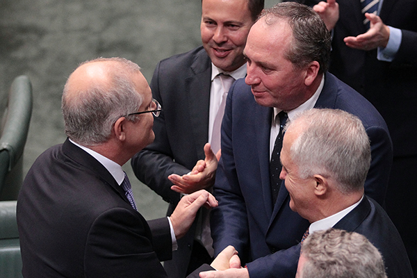 Barnaby Joyce is the Deputy PM again. What's next for the Prime Minister?