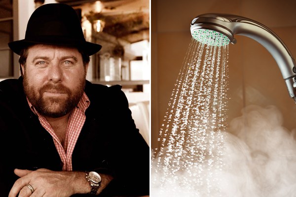 Article image for Shane Jacobson reveals dramatic proposal to end long hot showers