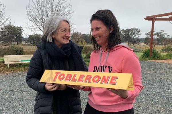 Article image for Giant Toblerone Delivered!
