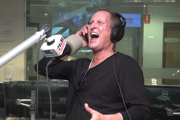 Article image for Todd McKenney's electrifying in-studio tribute to man who put him 'on the map'