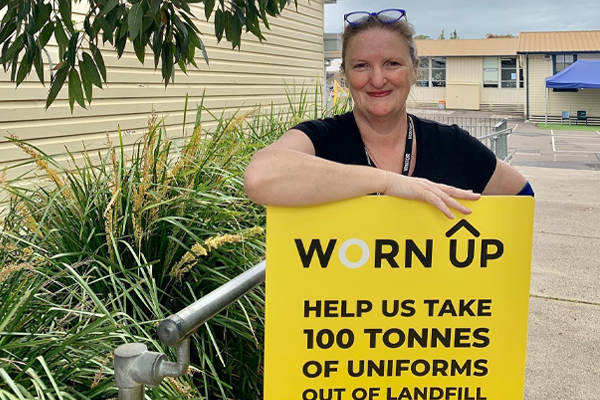 Worn out to 'Worn Up': Local hero's miraculous uniform transformation