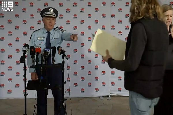 Article image for 'Just so wrong': Press conference trespasser and Earth's 'prime creator' fined by police