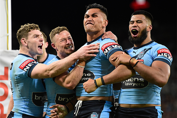 Article image for NSW Coach Brad Fittler reacts to stunning 50-6 win in Origin 1