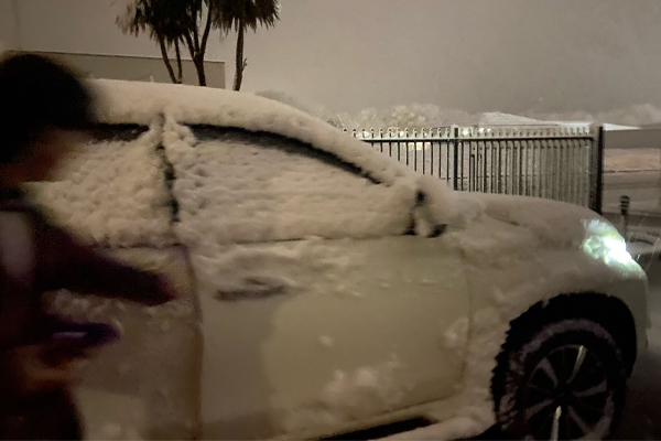 Article image for NSW cold snap: Snow blankets parts of the state