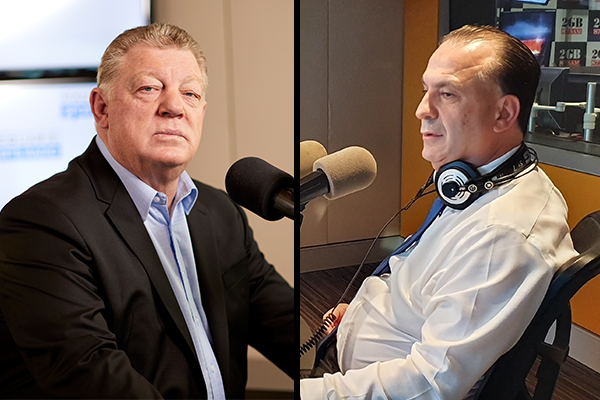 Article image for 'One step too far': Peter V'landys addresses reports of falling out with Phil Gould