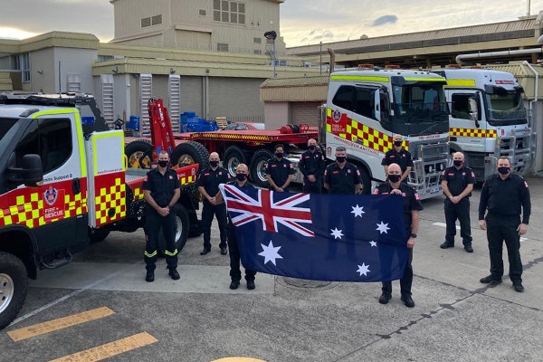 Aussie firefighters to replace fatigued Canadians in desperate hour of need