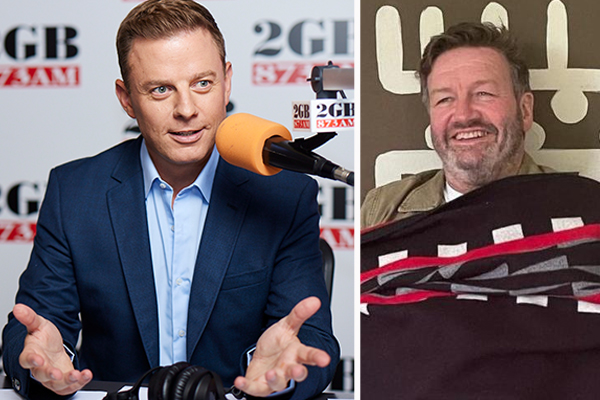 Article image for BUSTED | Ben Fordham exposes 'lying' Triple M's Lawrence Mooney
