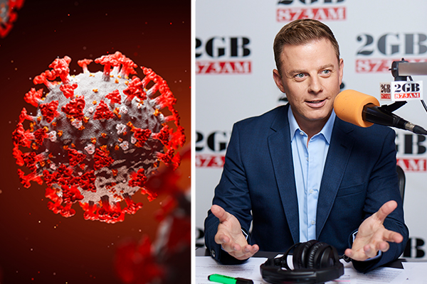 Article image for 'This cannot go on': Ben Fordham calls on NSW to ditch lockdowns
