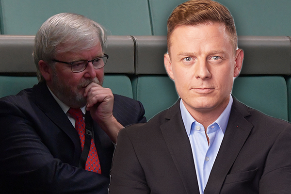 Article image for 'Let me say this': Ben Fordham's message to Kevin Rudd