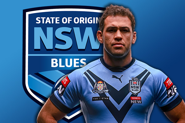 Article image for Blues vice-captain Dale Finucane 'humbled' by high praise from Brad Fittler