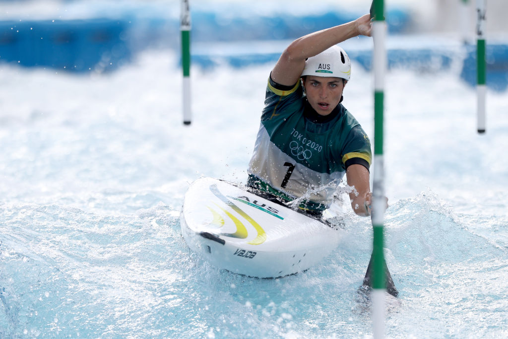 Article image for Cool and collected kayaker Jess Fox claims bronze in slalom final