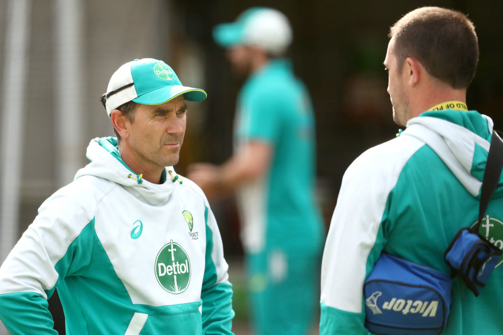 Article image for 'Storm in a teacup': Cricket coach Justin Langer denies rift with senior players