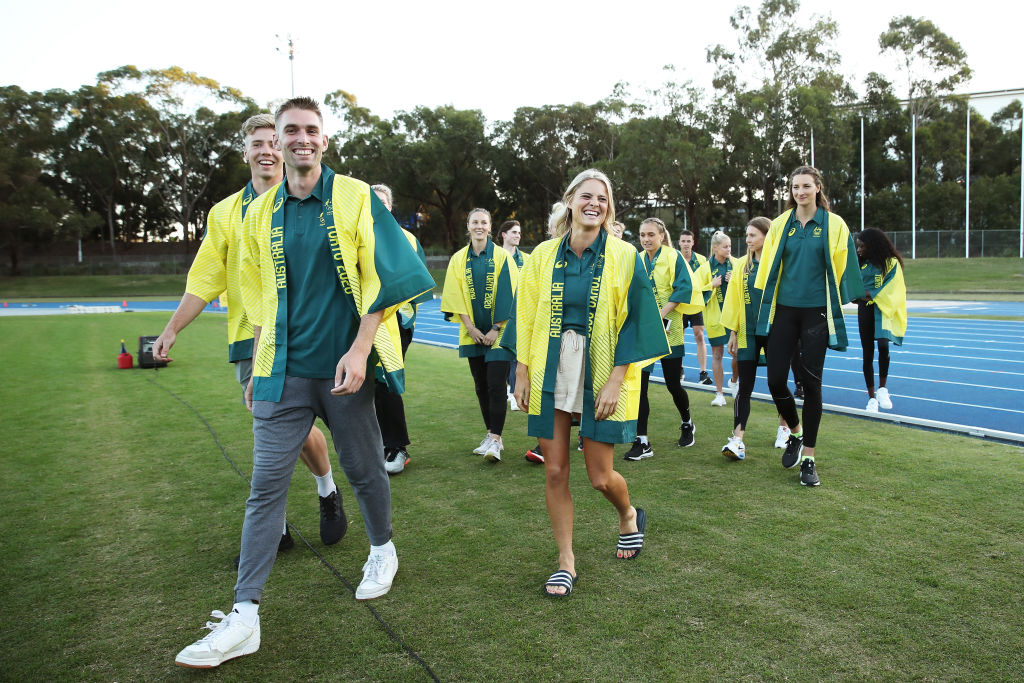 Article image for Australian Olympic Track and Field squad released from isolation