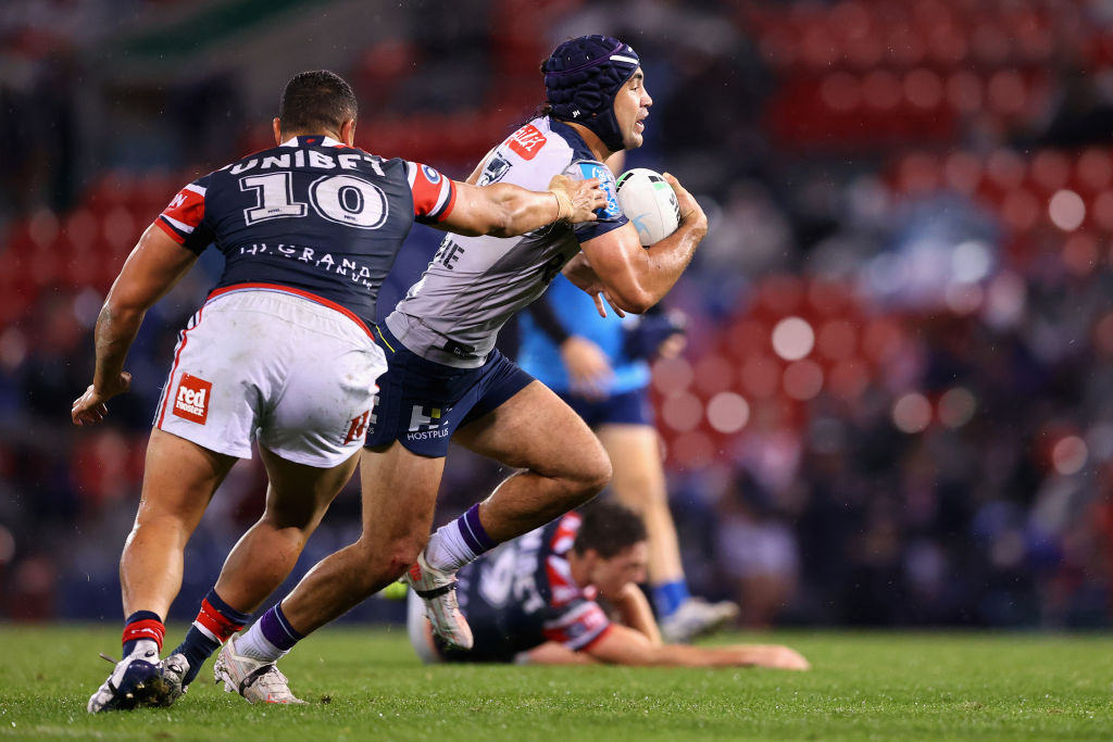 The 'massive concern' facing rugby league after Storm slaughter Roosters