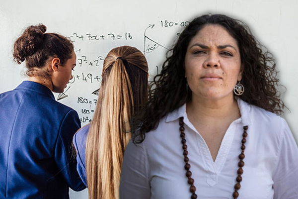 Article image for Racist maths? Jacinta Price tears into 'absolutely nonsensical' curriculum changes
