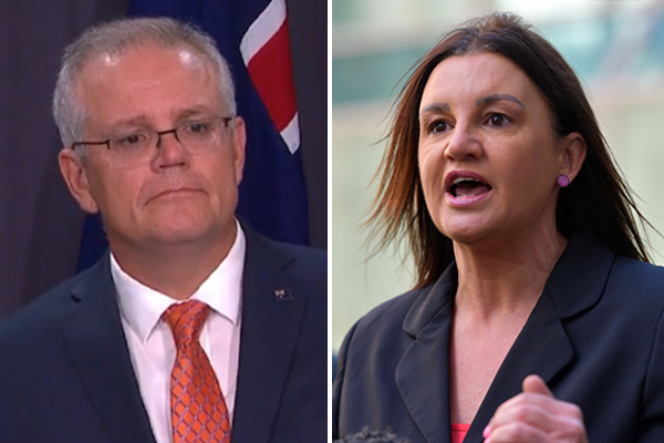 Article image for Scott Morrison accused of 'spitting the dummy' when facing women's issues