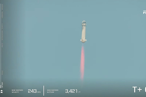 Article image for Billionaires are flying to space, so when is it our turn?