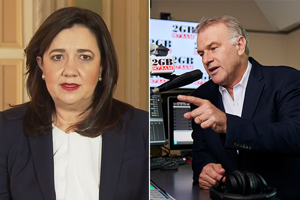 Article image for 'You can't have it both ways': Jim Wilson calls out Annastacia Palaszczuk