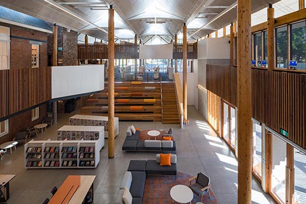 To shh or not to shh: The 'funky' features of the library of the future