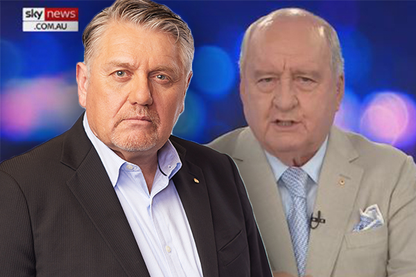 Article image for Fed up Ray Hadley calls out Alan Jones' COVID claims