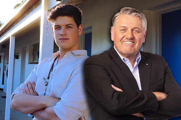 Article image for The private comment from Ray Hadley that shocked country star Blake O'Connor