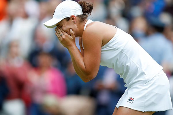 'Dreams can come true': Ash Barty's coach reacts to Wimbeldon win