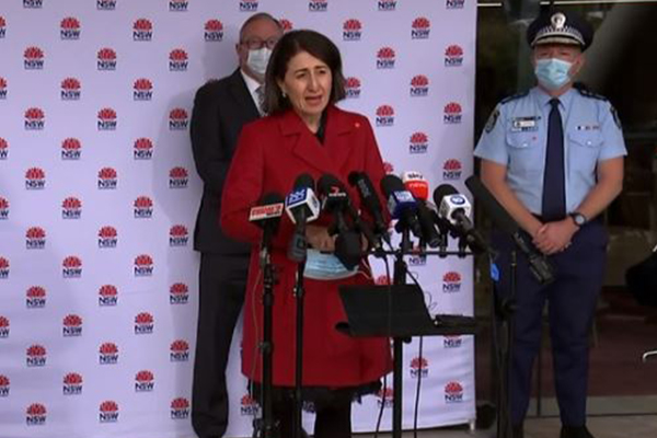 Sydney records over 100 cases of COVID-19