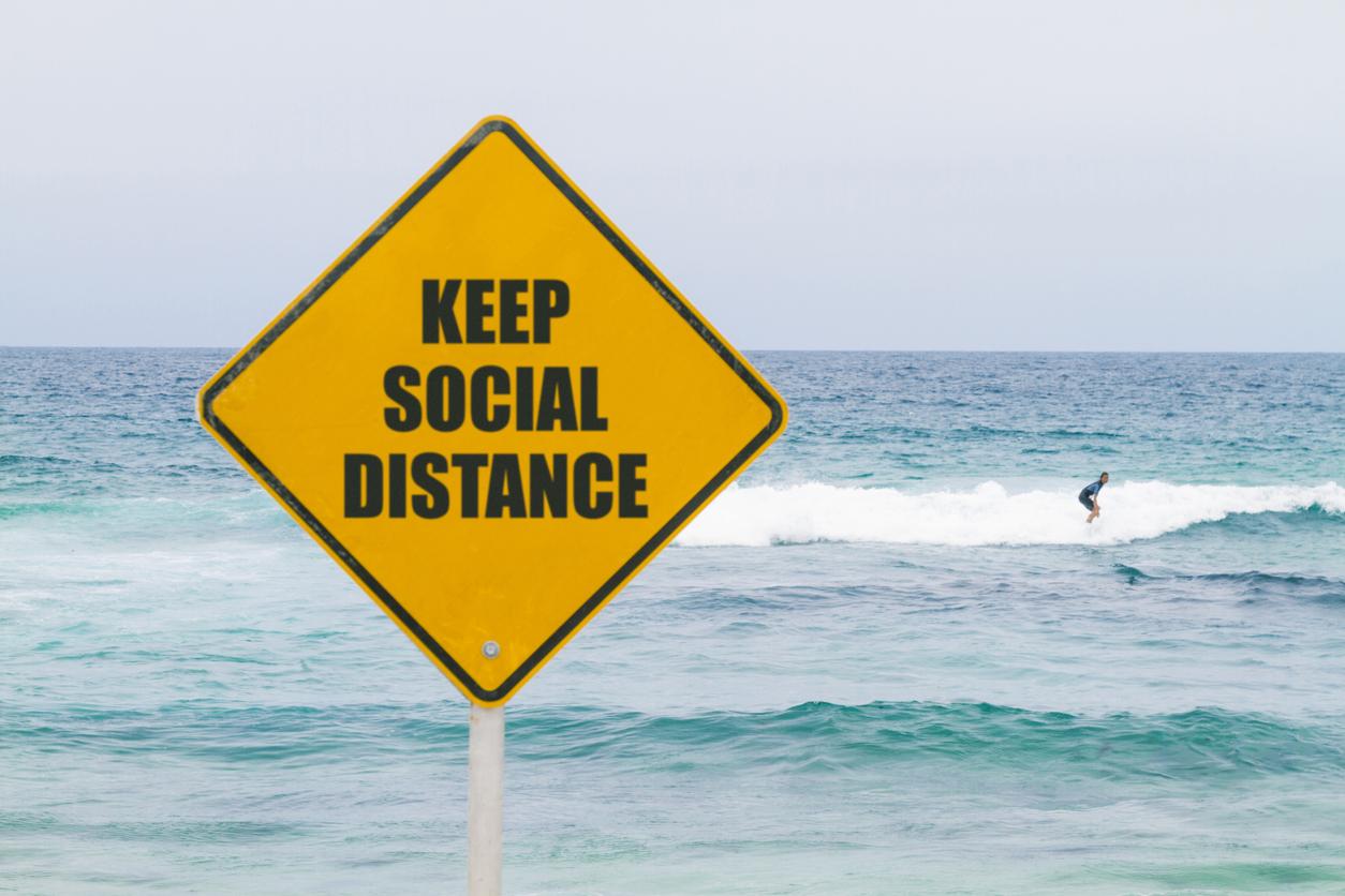 Surf lifesaver reveals social distancing's dangerous downside for swimmers