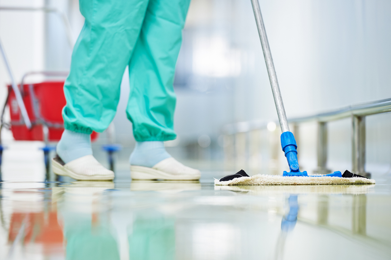 Article image for Westmead Hospital management yields to cleaners' demands for PPE