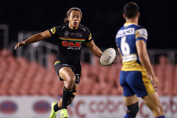 Jarome Luai confirms imminent return for Penrith Panthers