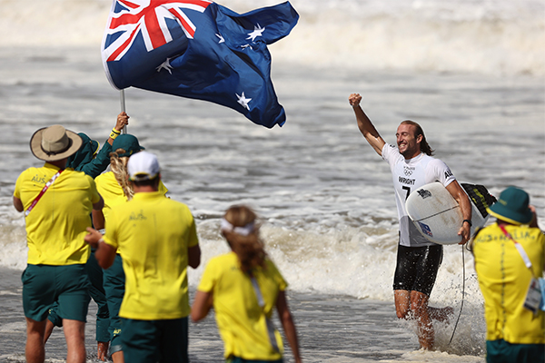 Article image for Aussie Olympian 'floating on a cloud' after historic feat