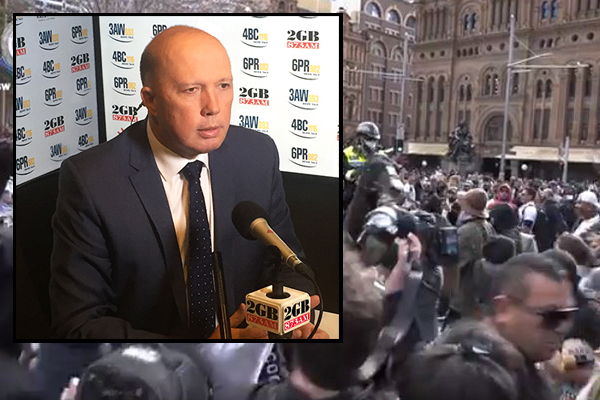 Peter Dutton takes aim at thousands of 'selfish' Sydneysiders