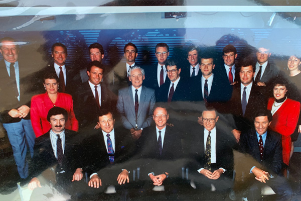 Jim Wilson shares flashback to '90s newsroom in tribute to 'larger than life' colleague