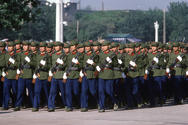 'Real international event': Warning China ready for war in six years