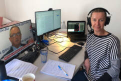 Deborah Knight back on the air after COVID alert