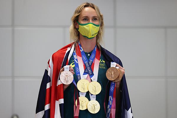 Article image for 'I'm not a Queenslander': Olympian Emma McKeon settles debate