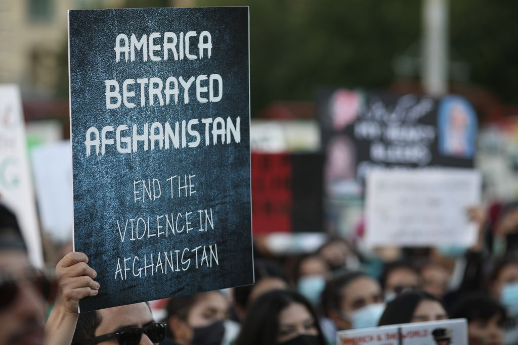 Article image for Afghanistan to become 'a rising source of terror' without US intervention