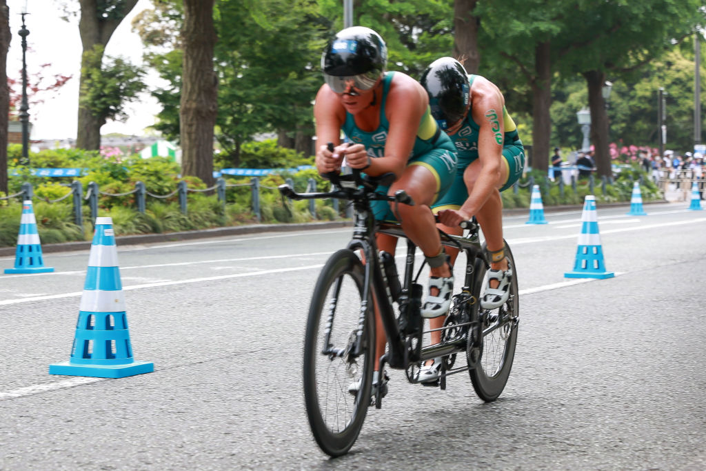 Paralympic triathlete honoured to join 'the mob' again for Tokyo 2020