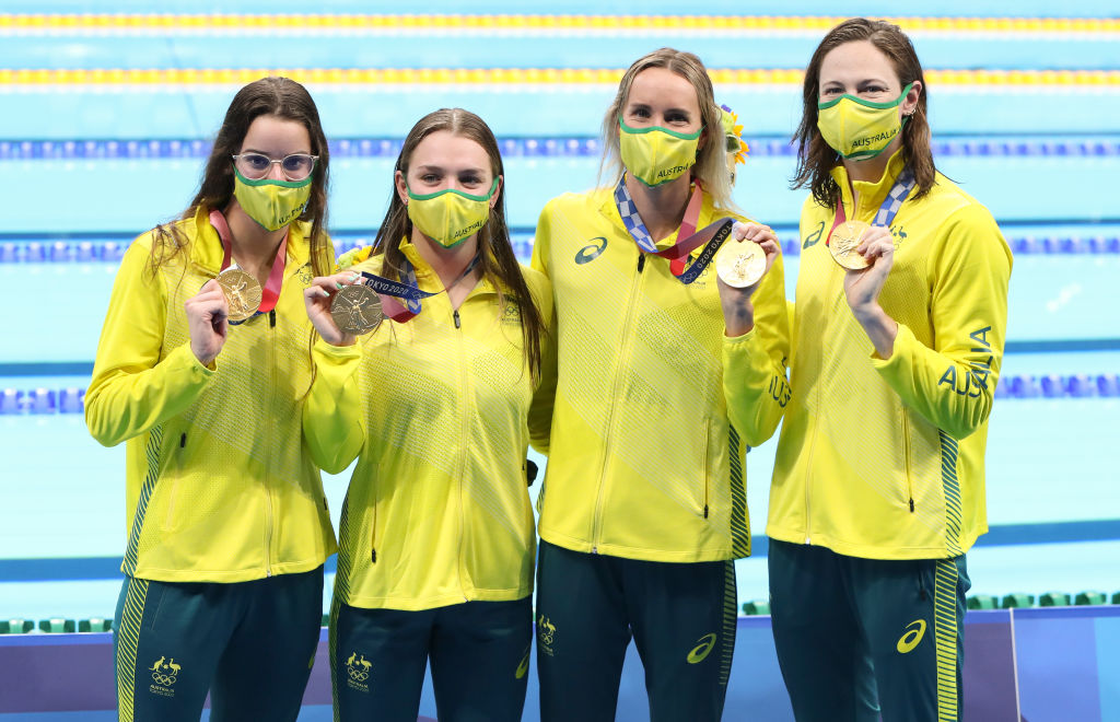 Tokyo 2020: 'Blend of the old and new' gives Australian swimming a golden glow