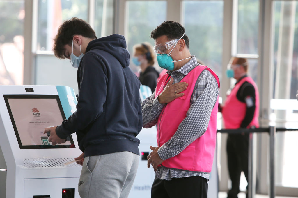 Year 12 student commends 'quick and organised' mass vaccination operation