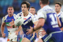 Bulldogs' Lachlan Lewis accused of stealing NRL speaker to sell on eBay