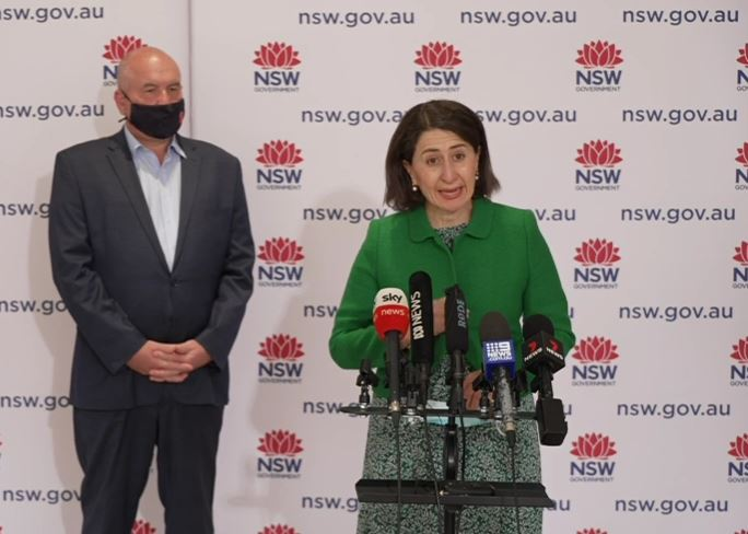 NSW goes into state-wide lockdown with non-compliance fines increased