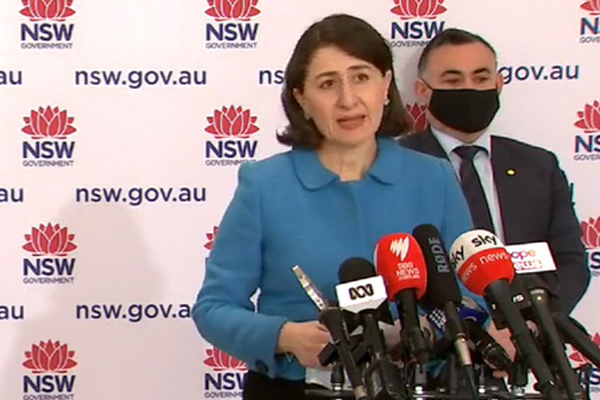 Article image for Vaccinated freedoms announced as NSW surpasses 1000 cases in 24 hours