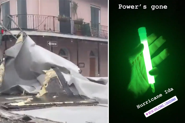 Article image for New Orleans goes dark as Hurricane Ida hits 'like a freight train'
