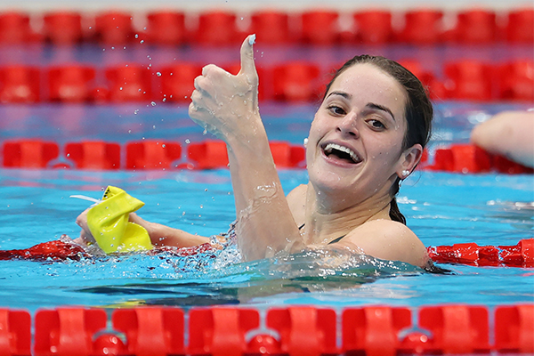Article image for Triple gold medallist Kaylee McKeown's 'superpower' behind her success