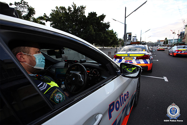 Article image for NSW police always at the ready to shut down anti-lockdown protests