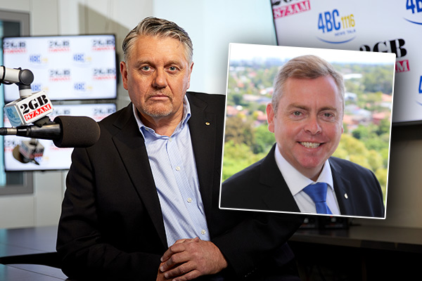 Ray Hadley 'disappointed' in Corrections Minister Anthony Roberts