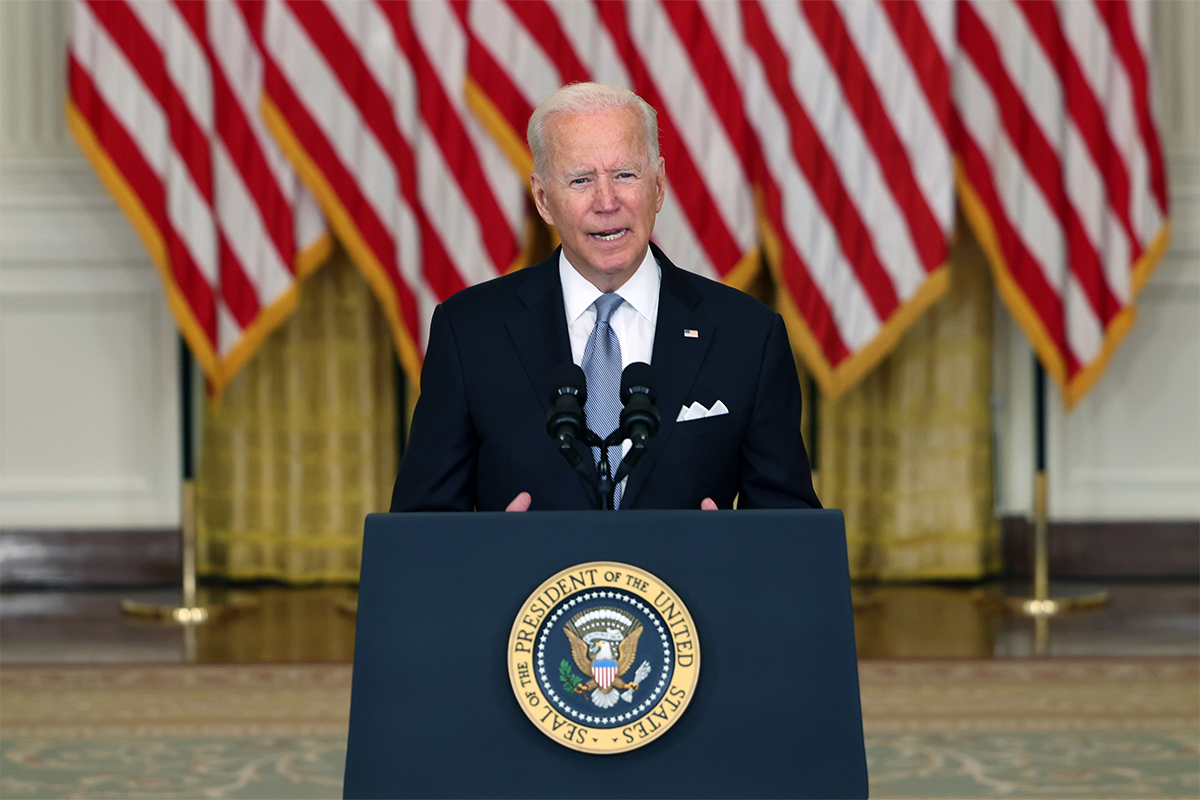 Article image for 'There was never a good time': US President doubles down on Afghanistan withdrawal