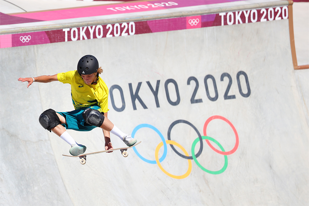 Olympian tipped 'underdog' who went on to win first gold for park skateboarding