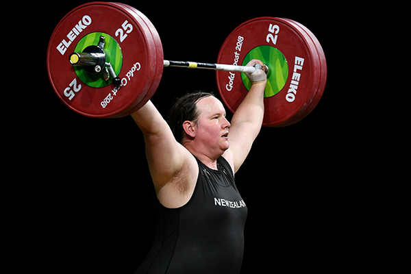 Article image for 'Please, make this stop': Transgender weightlifter named sportswoman of the year